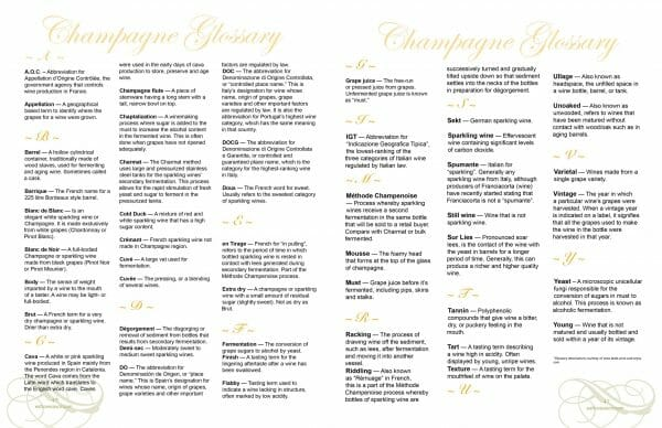 2 page spread glossary ELS Special Issue CHAMPAGNE 2017 scaled Digital Edition #1 - Champagne - EAT LOVE SAVOR International luxury lifestyle magazine, bookazines & luxury community