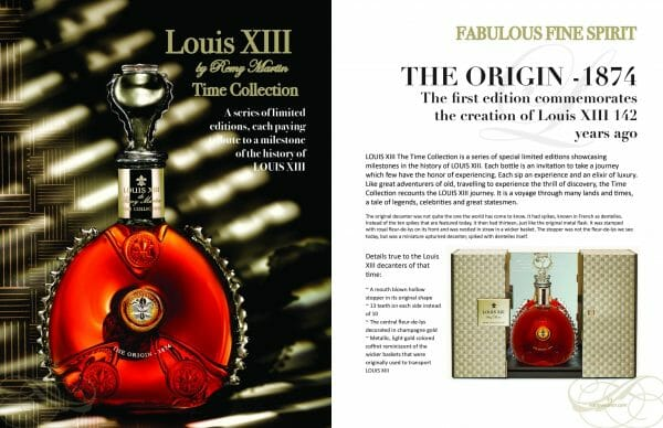 2 page spread louis xiii Delectable issue scaled Digital Edition #5 - Travel & Escape - EAT LOVE SAVOR International Luxury Lifestyle Magazine