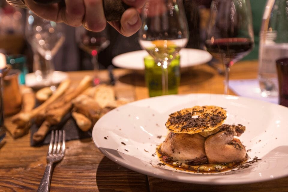 Landscape Quail taken at @lachaumiere Courmayeur Mont Blanc Hosts 7th Annual Mountain Gourmet Ski Experience - EAT LOVE SAVOR International luxury lifestyle magazine and bookazines