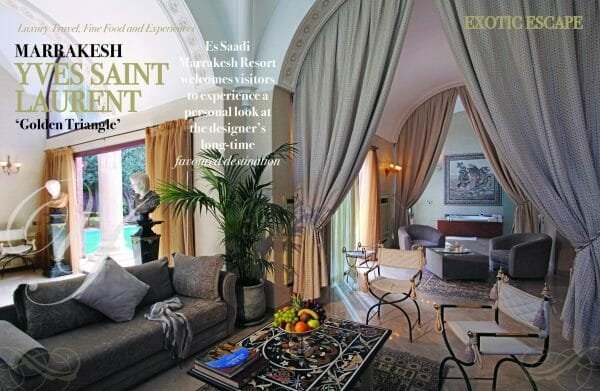 2 page spread ysl travel and escape scaled Digital Edition #6 - Embrace the Beauty of Life - EAT LOVE SAVOR International Luxury Lifestyle Magazine
