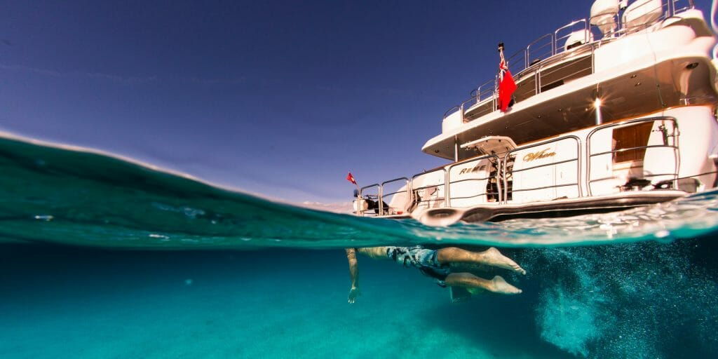 Diving snorkelling and enjoying the wide selection of toys the yacht has on offer Lush escapes to the Bahamas in style with luxury yacht Remember When - EAT LOVE SAVOR International luxury lifestyle magazine, bookazines & luxury community