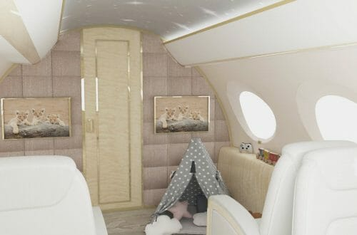 3 Nursery Jet G650 Toy Wigwam1 The World's First Flying Nursery: The height of luxury for UHNW clients families - EAT LOVE SAVOR International luxury lifestyle magazine, bookazines & luxury community