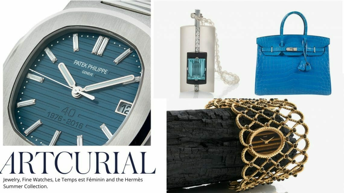 Jewelry Fine Watches Le Temps est Féminin and the Hermès Summer Collection. Artcurial Jewellery, Watches, Vintage Hermès Monaco Summer Sales from 19 to 21 July 2020 in Monte Carlo - EAT LOVE SAVOR International luxury lifestyle magazine and bookazines
