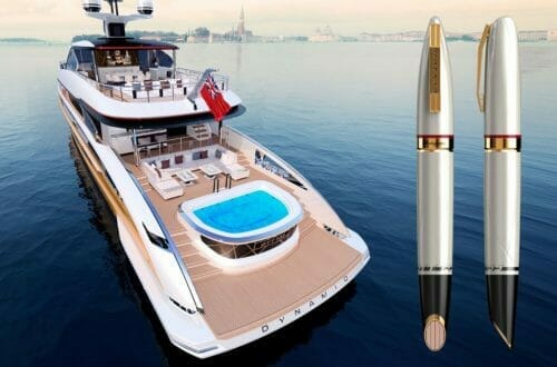 dynamic yacht and montegrappa pen Montegrappa GTT 135 a Companion Edition to Dynamiq GTT 135 - EAT LOVE SAVOR International luxury lifestyle magazine, bookazines & luxury community