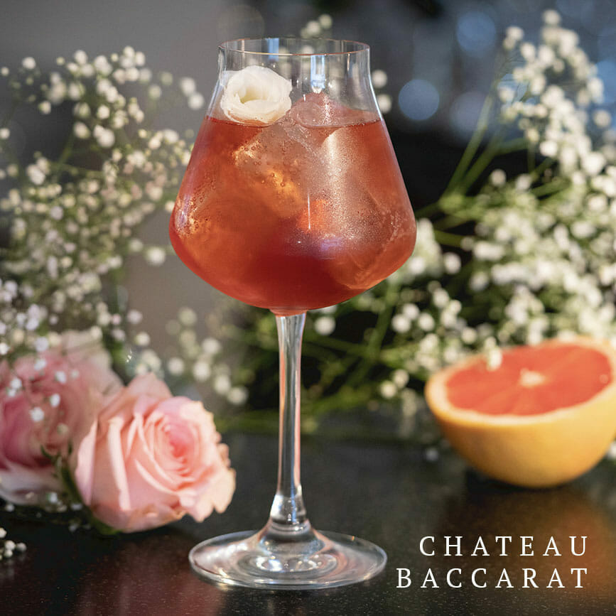 chateau baccarat cocktail Cocktails by Baccarat: MON CHÂTEAU BACCARAT  - EAT LOVE SAVOR International luxury lifestyle magazine and bookazines
