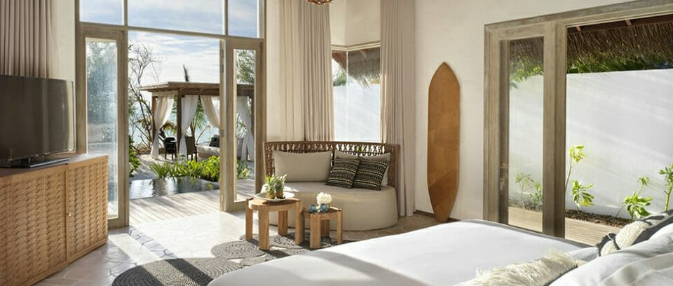 Deluxe Beach Sunrise Sunset Bedroom 01 Luxury Learning Escapes with a Difference - EAT LOVE SAVOR International luxury lifestyle magazine, bookazines & luxury community