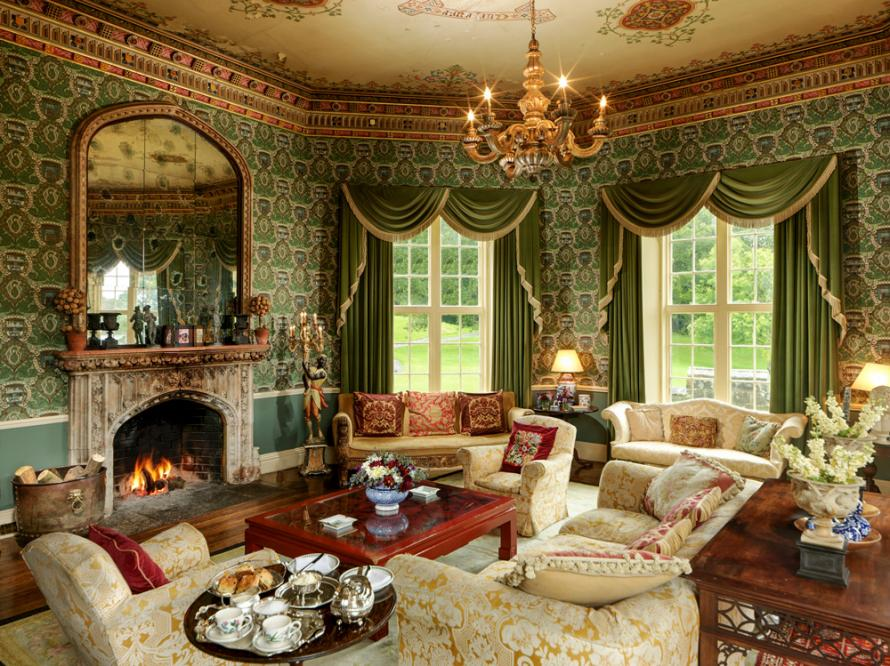 crop 9999 666 Gothic Castle Estate Ireland Olivers travels 2 Staycation Like a Royal from The Crown with Oliver's Travels - EAT LOVE SAVOR International luxury lifestyle magazine, bookazines & luxury community