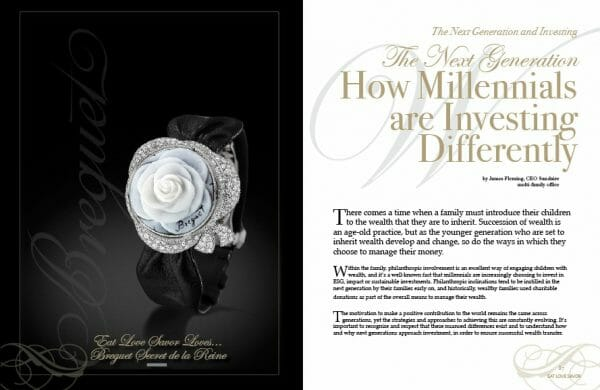 edition 8 investing Digital Edition #8 - Ode to the Art of Living - EAT LOVE SAVOR International Luxury Lifestyle Magazine