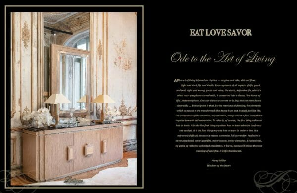 edition 8 ode art of living Digital Edition #8 - Ode to the Art of Living - EAT LOVE SAVOR International Luxury Lifestyle Magazine