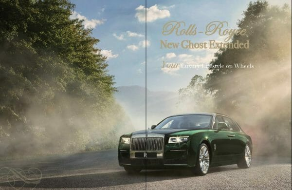 rolls royce ghost extended eidtion 8 Digital Edition #8 - Ode to the Art of Living - EAT LOVE SAVOR International Luxury Lifestyle Magazine