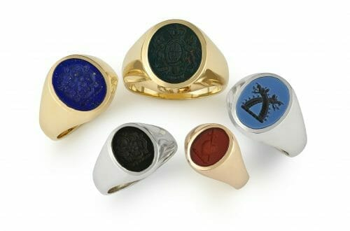 signet rings hancocks Modern Resurgence of the Traditional Signet Ring - EAT LOVE SAVOR International luxury lifestyle magazine and bookazines