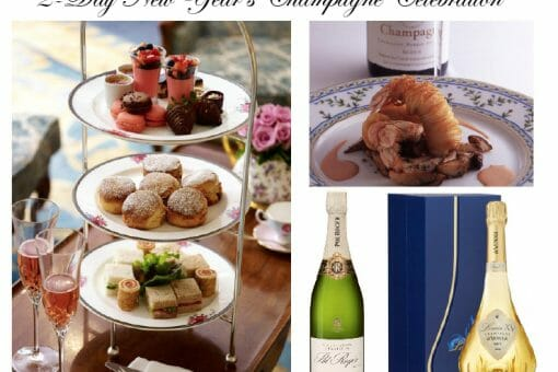 2 DAY NEW YEARS CHAMPAGNE CELEBRATION Ring in the New Year with a 2-Day Champagne Celebration - EAT LOVE SAVOR International luxury lifestyle magazine and bookazines