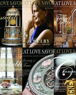 archives collection 2020 Homepage - EAT LOVE SAVOR International luxury lifestyle magazine, bookazines & luxury community