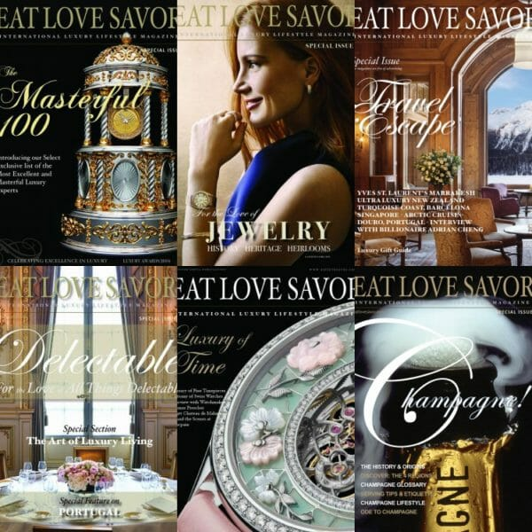 archives collection 2020 Digital Archives Collection 6-Issue Bundle - EAT LOVE SAVOR International Luxury Lifestyle Magazine