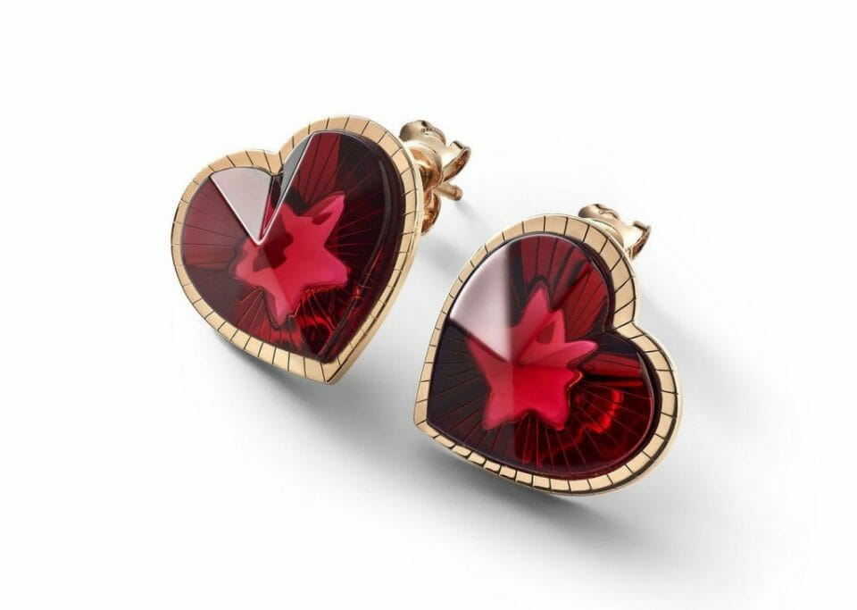 Baccarat etoile de mon coeur earrings Beautiful Baccarat Jewelry for Her - EAT LOVE SAVOR International luxury lifestyle magazine and bookazines