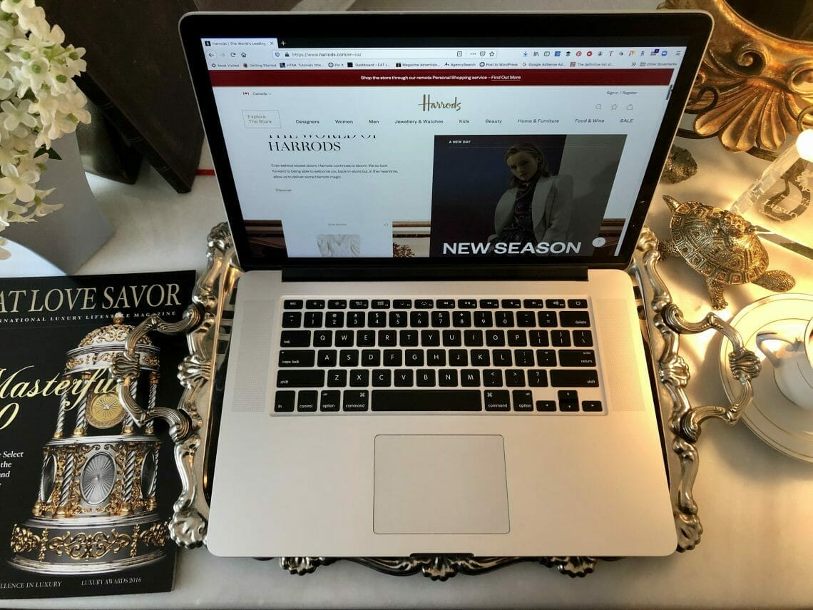 online shopping tips IMG 0149 Luxury Online: Mastering the Art of Online Shopping - EAT LOVE SAVOR International luxury lifestyle magazine and bookazines