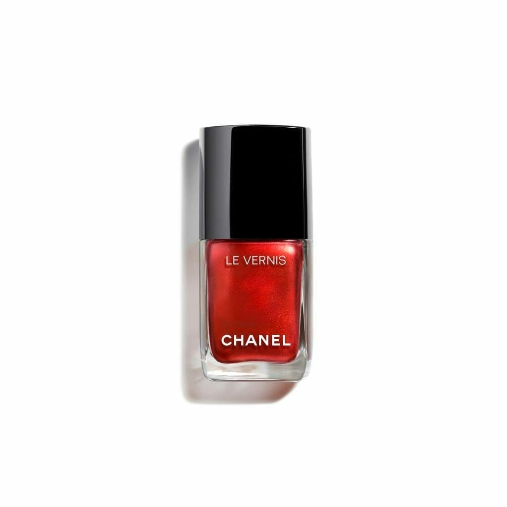 CHANEL NAIL POLISH le vernis longwear nail colour 887 metallic bloom 13ml.3145891598872 Luxury Beauty: CHANEL Spring-Summer Collection 2021 - EAT LOVE SAVOR International luxury lifestyle magazine and bookazines