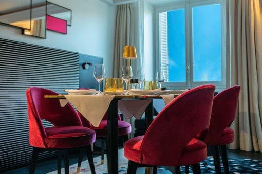 Fauchon lHotel Paris private dining Fauchon l'Hotel Paris converts bedrooms to private dining spaces - EAT LOVE SAVOR International luxury lifestyle magazine, bookazines & luxury community