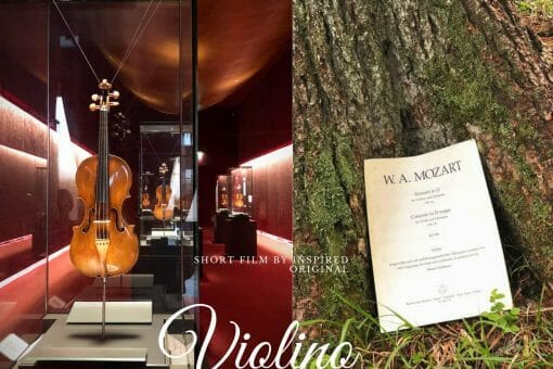 website art various Arts and Culture: Short Film VIOLINO - EAT LOVE SAVOR International luxury lifestyle magazine and bookazines