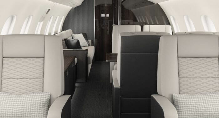 Bombardier Global 6000 cabin Monarch Air Group: Private jet charters to the remote and pristine Chilean Patagonia - EAT LOVE SAVOR International Luxury Lifestyle Magazine