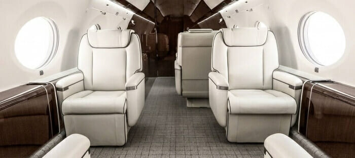 Gulfstream G650 cabin Monarch Air Group: Private jet charters to the remote and pristine Chilean Patagonia - EAT LOVE SAVOR International Luxury Lifestyle Magazine