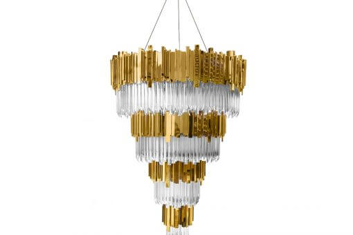 empire chandelier luxxuu Light up Your Spaces with the Empire Chandelier - EAT LOVE SAVOR International luxury lifestyle magazine and bookazines