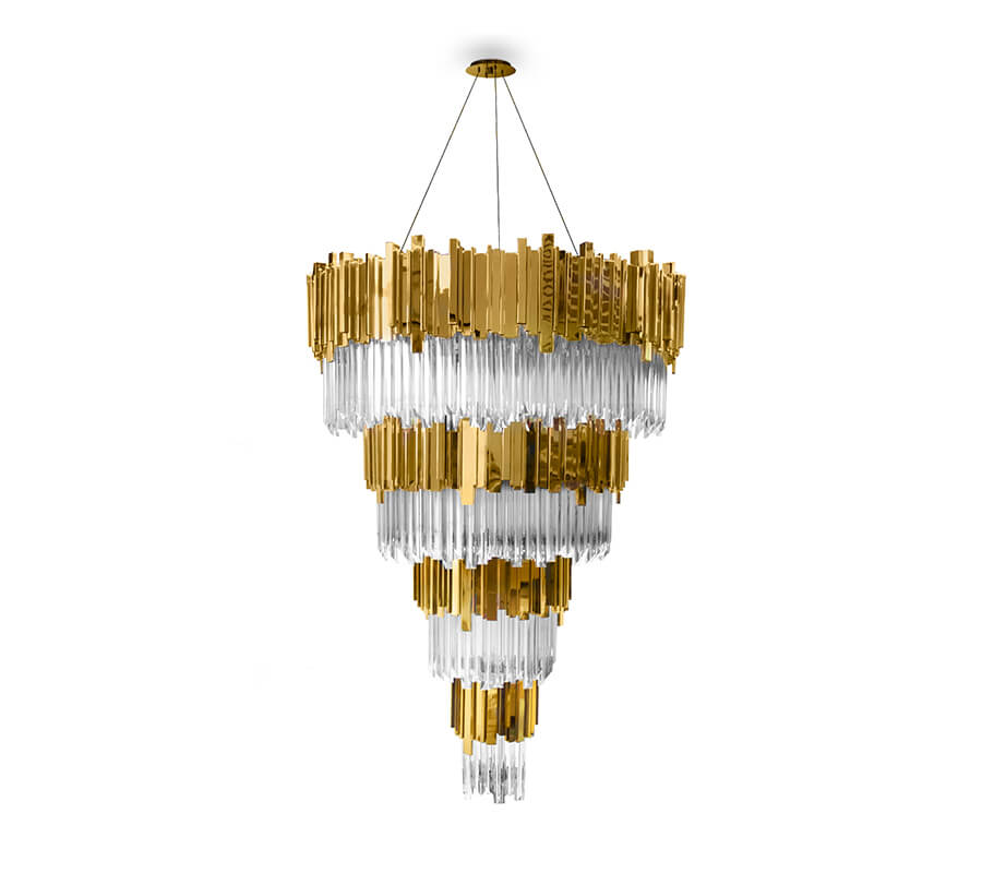 empire chandelier Light up Your Spaces with the Empire Chandelier - EAT LOVE SAVOR International Luxury Lifestyle Magazine