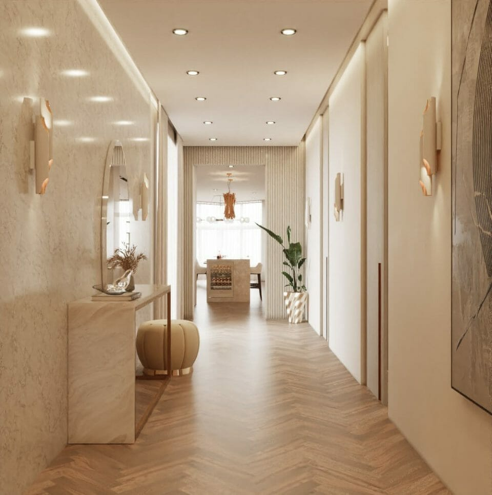 entryway Contemporary Modern Penthouse in Monaco Modern Penthouse in Monaco, Elegance and Luxury in Harmony - EAT LOVE SAVOR International Luxury Lifestyle Magazine