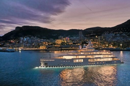 Benetti FB 272 MY Luminosity in Monaco 2 Excellence on the Track meets Excellence at Sea: Largest Hybrid Yacht in Existence Benetti LUMINOSITY Giga Yacht - EAT LOVE SAVOR International Luxury Lifestyle Magazine