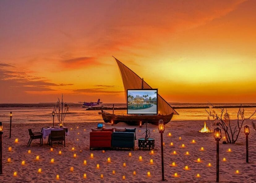 Cinema Under the Stars The Nautilus Maldives private ultra-luxury island resort reveals Holistic Spa Month in July and brand new spa treatments selection - EAT LOVE SAVOR International Luxury Lifestyle Magazine