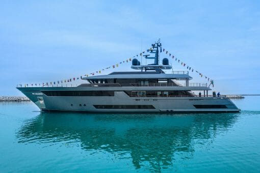 """Riva 50Metri 2 Riva 50 Metri M/Y """"Fifty"""" Launched, The Superyacht 'Made In Italy' By Riva Superyachts Division To Give The World Something To Dream About - EAT LOVE SAVOR International Luxury Lifestyle Magazine"""