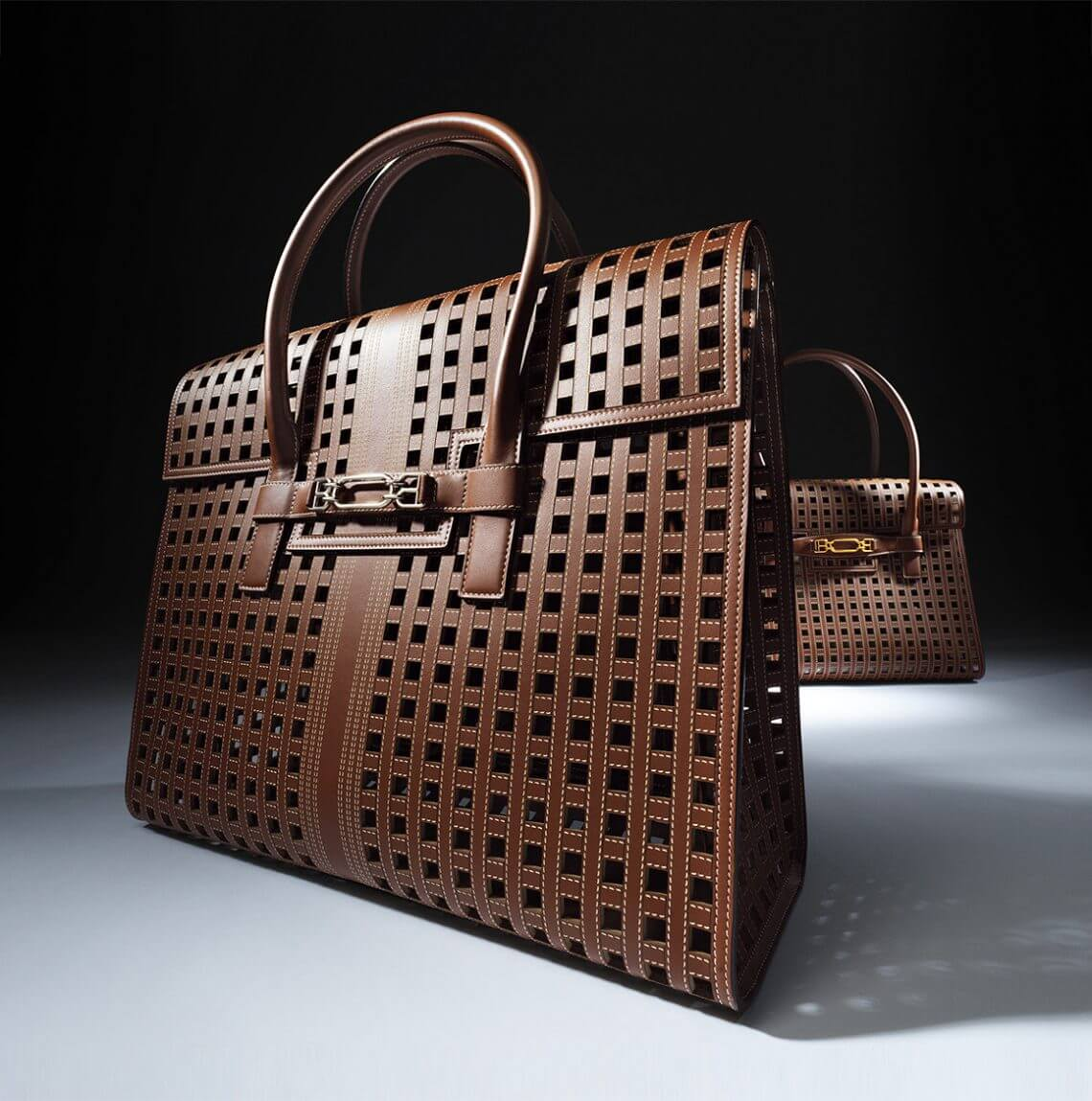 bally laser cut bag 3 Discover Classically Contemporary Bally of Switzerland Vedah Tote Bag - EAT LOVE SAVOR International Luxury Lifestyle Magazine