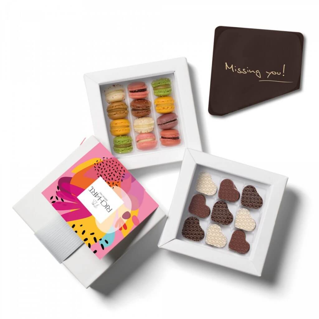 richart chocolates missing you Celebrate special occasions with an edible message and refined chocolate gift - EAT LOVE SAVOR International Luxury Lifestyle Magazine