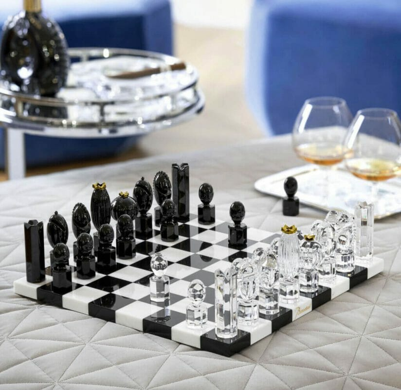 Baccarat chess set Marcel Wanders Father's Day Luxury Gift Guide for Sophisticated Gentlemen - EAT LOVE SAVOR International Luxury Lifestyle Magazine