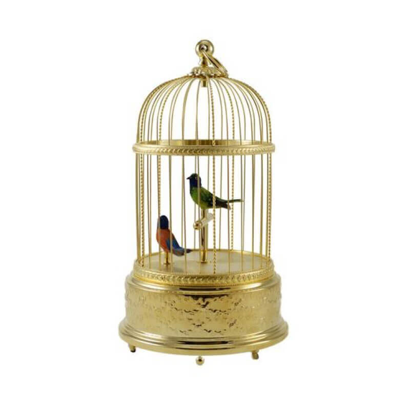 Reuge bird cage Voliere de la cour gilted 1 Father's Day Luxury Gift Guide for Sophisticated Gentlemen - EAT LOVE SAVOR International Luxury Lifestyle Magazine