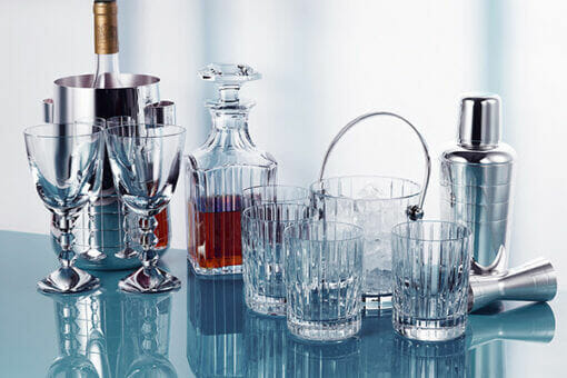 christolfe and baccarat bar Update your Home Bar with Baccarat and Christofle - EAT LOVE SAVOR International Luxury Lifestyle Magazine