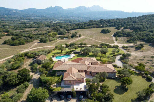 sothebys 20 hectare italy villa exterior Luxury Real Estate: Inviting Villa near San Pantaleo Italy immerses you in luxurious country living - EAT LOVE SAVOR International Luxury Lifestyle Magazine