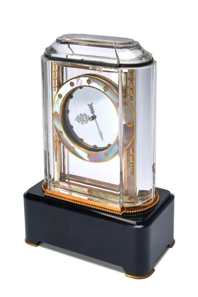 Cartier Mystery Clock Pendule Mysterieuse Modele A Lot 328 Christie's reaches #1 position in the watches auction market, totalling US$ 93.7million - EAT LOVE SAVOR International Luxury Lifestyle Magazine