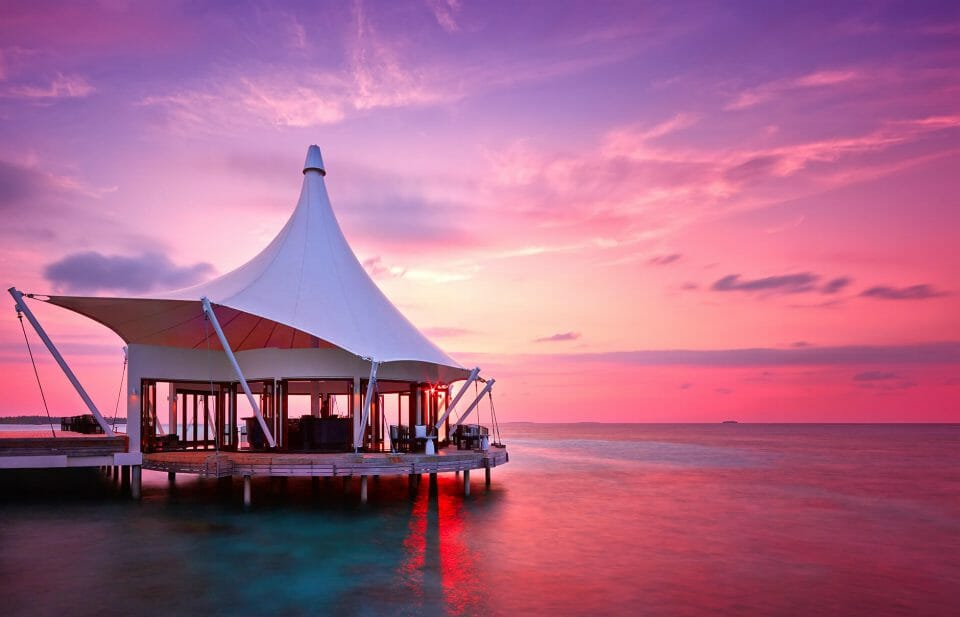 Niyama Private Islands Maldives Edge Restaurant Exterior view Six Metres Below & Above in the Maldives with Two Michelin-Starred Chef Paco Roncero - EAT LOVE SAVOR International Luxury Lifestyle Magazine