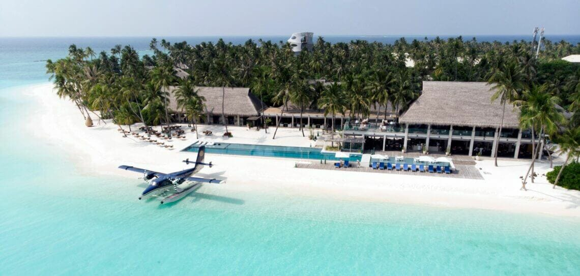 Velaa Island wide image The Ultimate Exclusive-Use Destinations for Bubble-To-Bubble Vacations - EAT LOVE SAVOR International Luxury Lifestyle Magazine