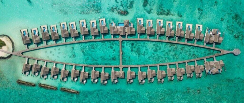 fairmont maldives aerial view recharge1440x612 The Ultimate Exclusive-Use Destinations for Bubble-To-Bubble Vacations - EAT LOVE SAVOR International Luxury Lifestyle Magazine