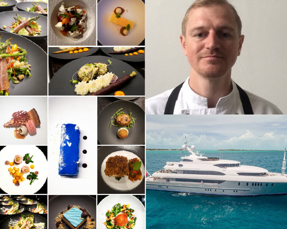 iyc yacht chef food and yacht The Young Yacht Chef: Philip Browning - EAT LOVE SAVOR International Luxury Lifestyle Magazine