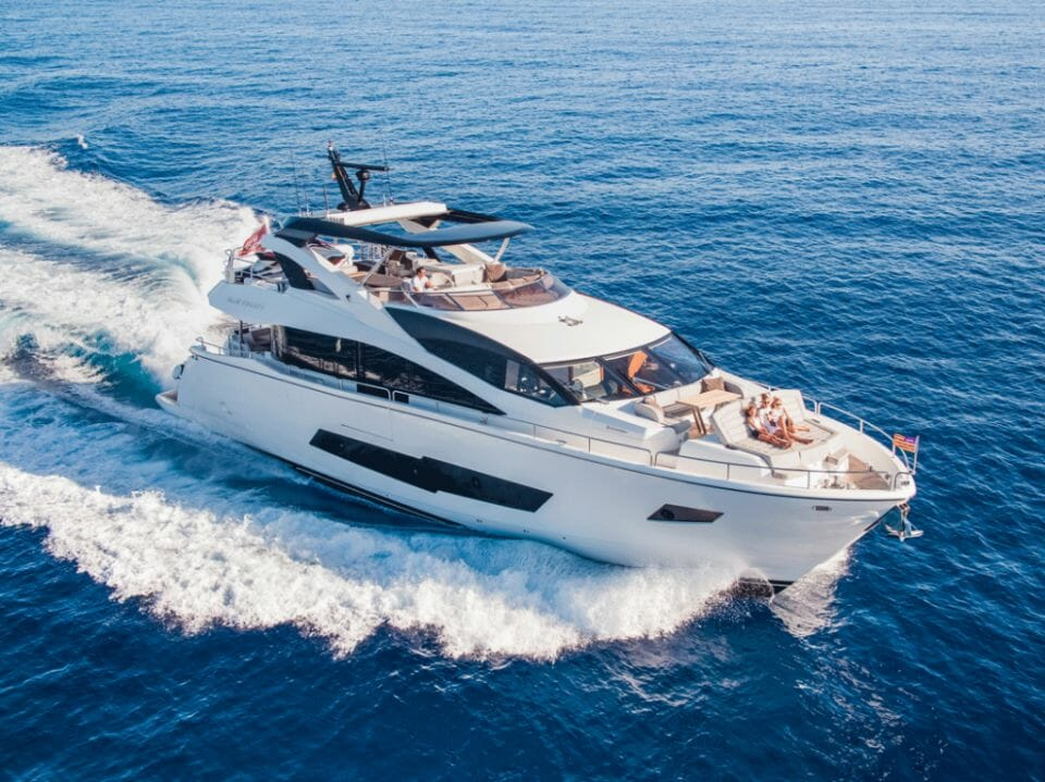 meros yacht Blue Infinity 6 Pioneering new co-ownership platform, Meros, launches to bring Sunseeker ownership to an emerging new market of sharing economy customers - EAT LOVE SAVOR International Luxury Lifestyle Magazine