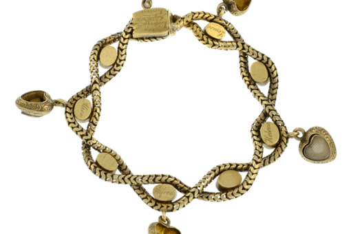 queen victoria bracelet 133628 5 1 Historic and Rare Sentimental Bracelet Given by Queen Victoria up for sale at auction - EAT LOVE SAVOR International Luxury Lifestyle Magazine