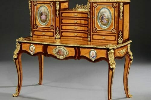 7352 Holland Sons Bonheur de Jour Discover Royal English Furniture Makers: Holland & Sons - EAT LOVE SAVOR International luxury lifestyle magazine and bookazines