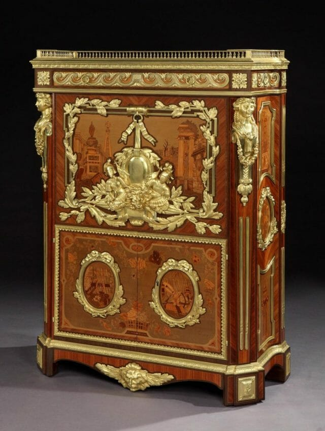 8114 Secretaire after a design by Foullett The Story of an Exquisite and Rare Antique Secretaire - EAT LOVE SAVOR International luxury lifestyle magazine, bookazines & luxury community