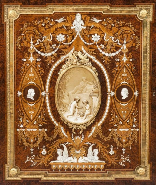 8637 Marblborough House Cabinet by Holland Sons door Discover Royal English Furniture Makers: Holland & Sons - EAT LOVE SAVOR International luxury lifestyle magazine, bookazines & luxury community