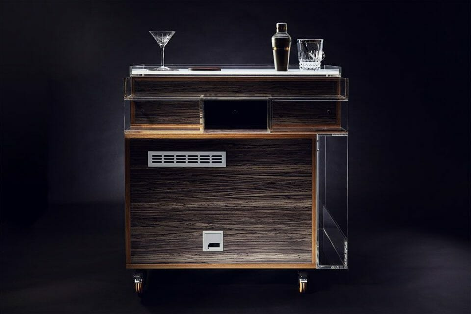 GIN TROLLEY REVERSE Discover the Gin Trolley by QUENCH - EAT LOVE SAVOR International Luxury Lifestyle Magazine