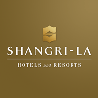 SHANGRI LA HOTELS LOGO The Masterful 100: Top 100 Luxury Experts and Brands List - EAT LOVE SAVOR International luxury lifestyle magazine, bookazines & luxury community