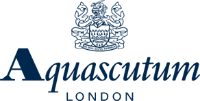 aquascutum logo The Masterful 100: Top 100 Luxury Experts and Brands List - EAT LOVE SAVOR International luxury lifestyle magazine, bookazines & luxury community